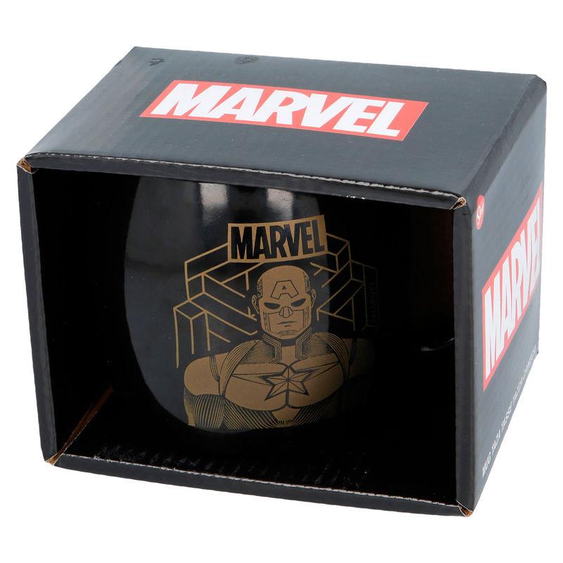 Taza Capitan America Marvel  385ml