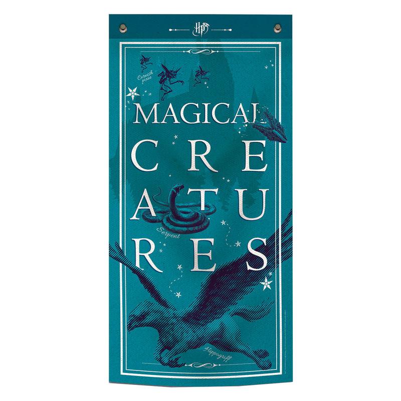 Estandarte Criaturas Mágicas Harry Potter