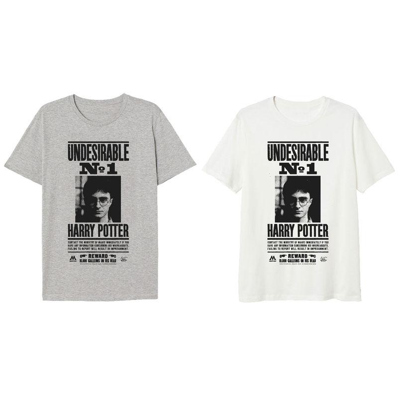 Camiseta Undesirable Harry Potter BLANCO NIÑO TALLA 9A