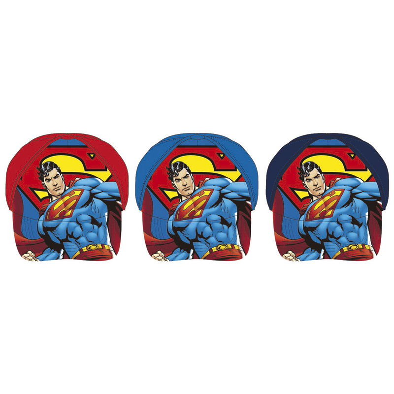 Gorra Superman DC Comics surtido