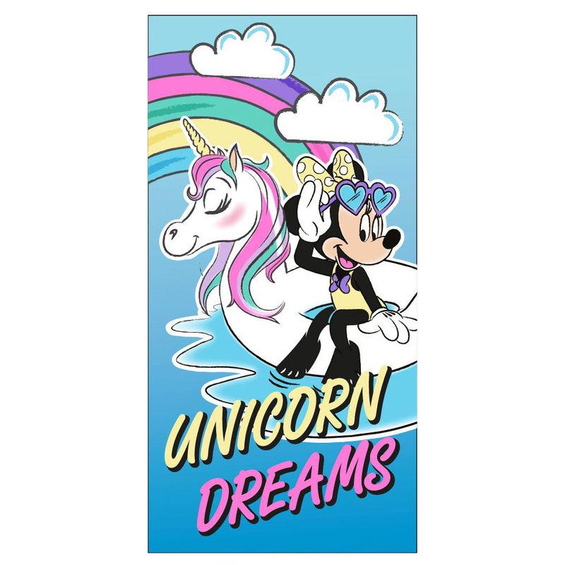 Toalla Unicornio Dreams Minnie Disney microfibra