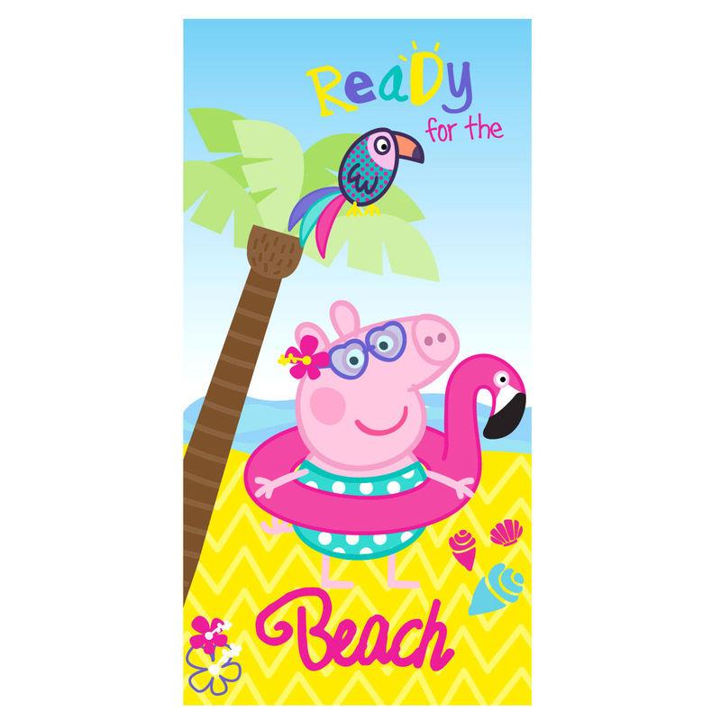 Toalla Peppa Pig Playa microfibra