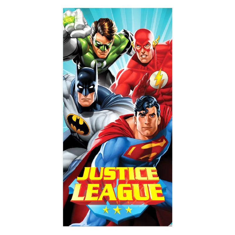 Toalla Liga de la Justicia DC Comics microfibra