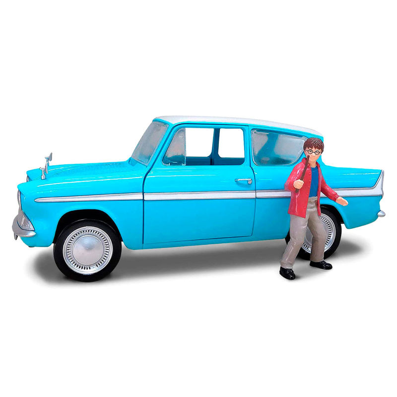 Set Coche Ford Anglia + figura Harry Potter