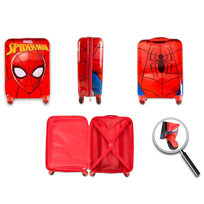 Maleta trolley ABS Spiderman Marvel 4r 48cm (3)
