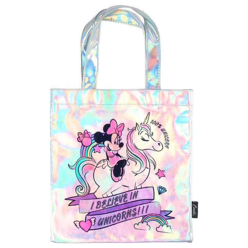 Bolso shopping iridiscente Minnie Disney