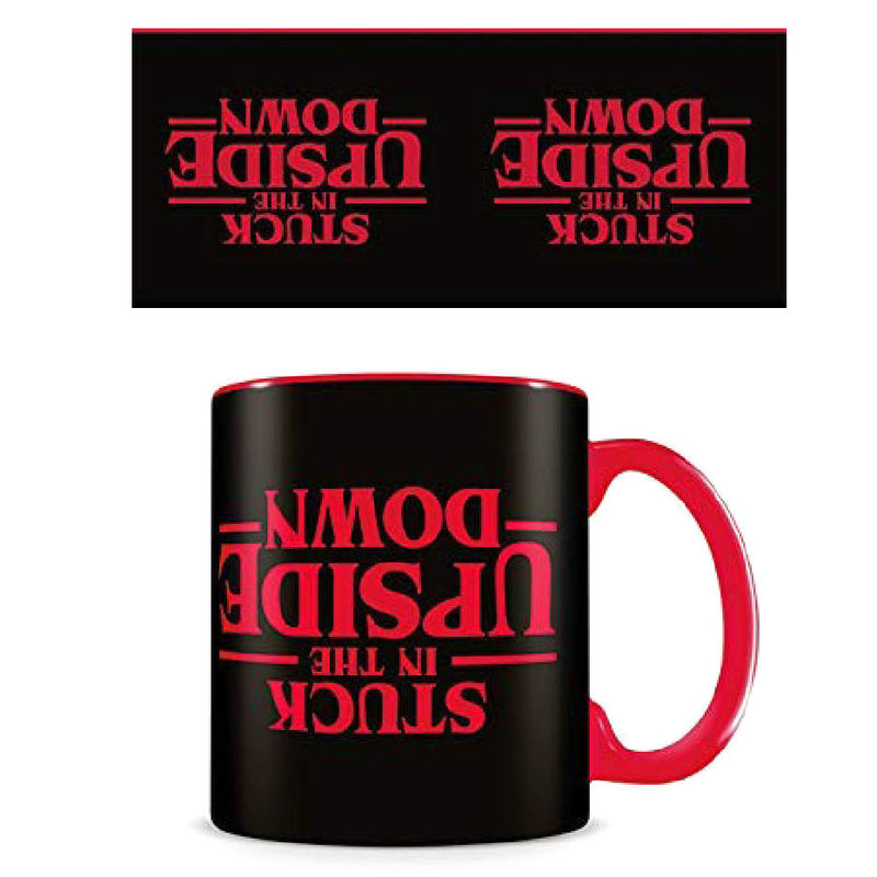 Taza Stuck in the Upside Down Stranger Things 5050574252850
