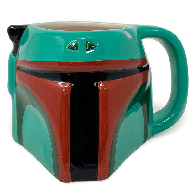 Taza 3D Boba Fett The Mandalorian Star Wars 5050574255615