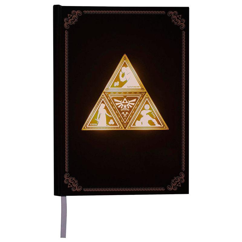 Cuaderno retroiluminada Zelda TriForce 5055964725853