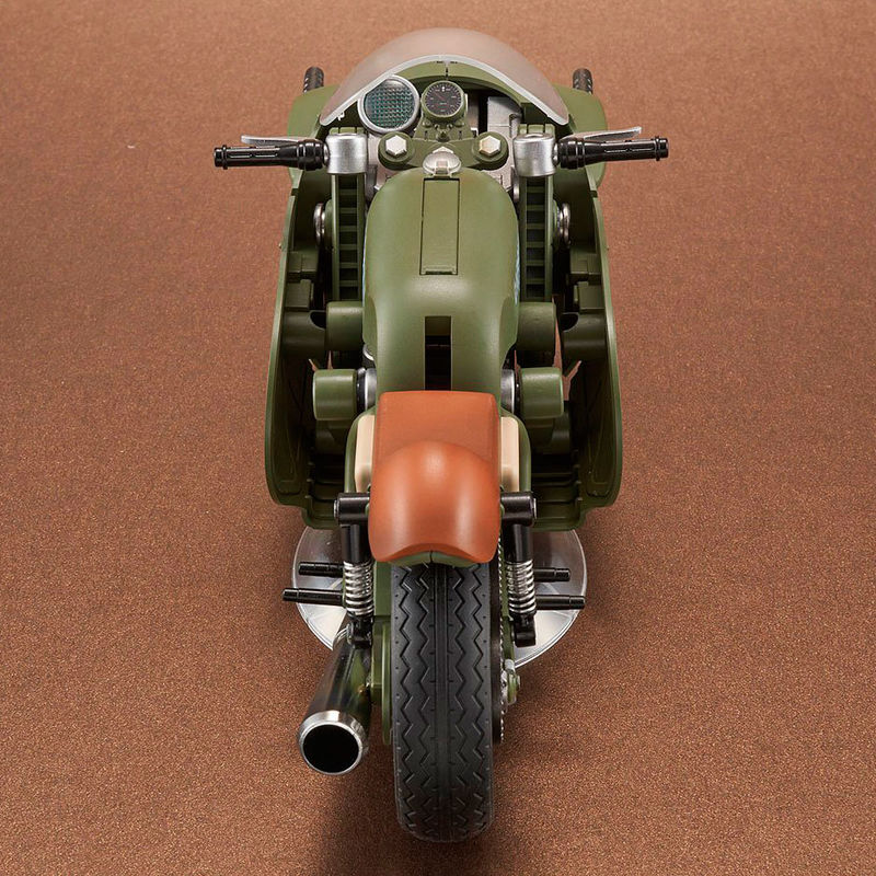 Figura Bulma Variable n19 Motorcycle Model Kit Dragon Ball 16cm
