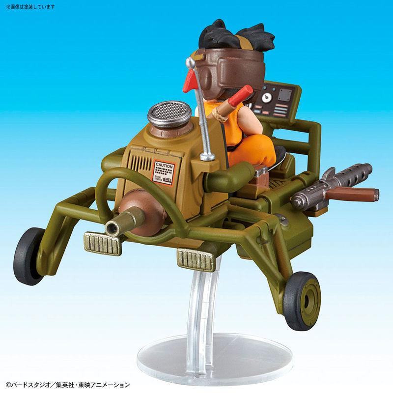 Figura Son Goku Jet Buggy Model Kit Dragon Ball Mecha Collection 8cm By Bandai