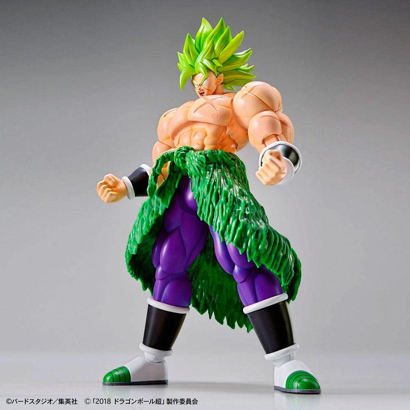 Figura Super Saiyan Broly Fullpower Model Kit Dragon Ball Super 23cm