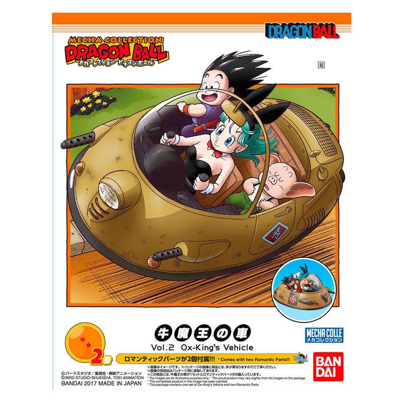Figura Ox-Kings Vehicle Model Kit Dragon Ball Mecha Collection 8cm By Bandai (4)