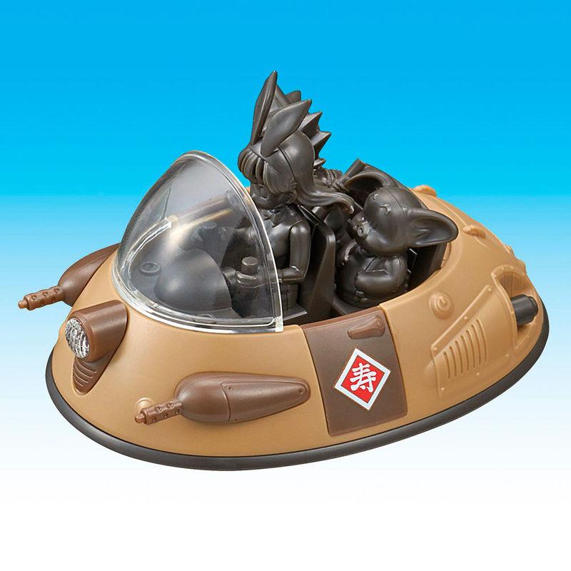 Figura Ox-Kings Vehicle Model Kit Dragon Ball Mecha Collection 8cm By Bandai (5)
