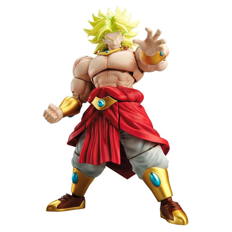 Figura Legendary Super Saiyan Broly Model Kit Dragon Ball Z 14cm