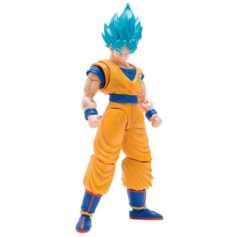 Figura Super Saiyan God Super Saiyan Son Goku Model Kit Dragon Ball Z 15cm