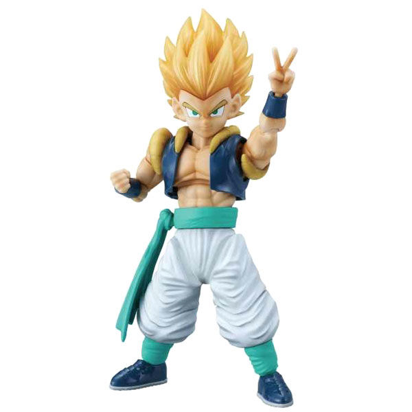 Figura Super Saiyan Gotenks Model Kit Dragon Ball Super 23cm