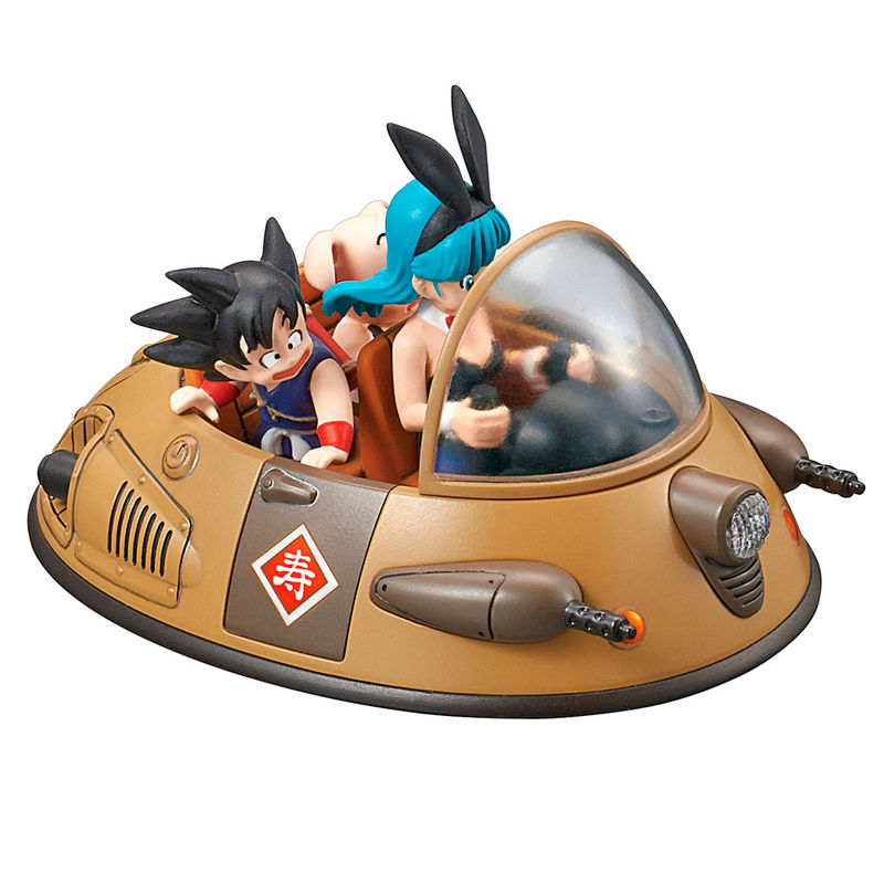 Figura Ox-Kings Vehicle Model Kit Dragon Ball Mecha Collection 8cm By Bandai