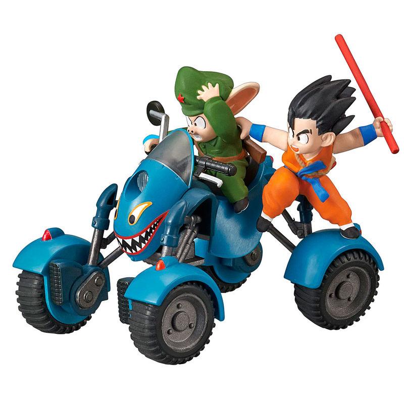 Figura Oolong Road Buggy Model Kit Dragon Ball Mecha Collection 8cm By Bandai