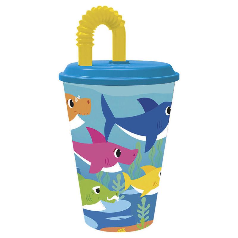 Vaso caña Baby Shark 8412497135301