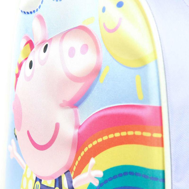 Mochila 3D Peppa Pig 31cm