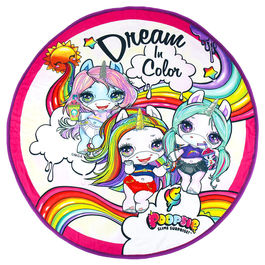 Toalla Dream in Color Poopsie microfibra