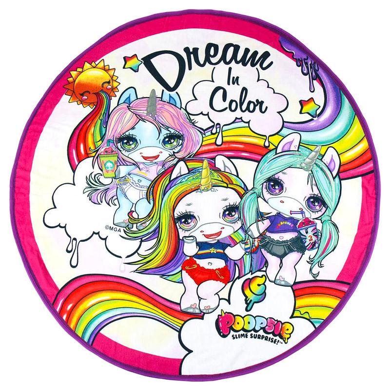 Toalla Dream in Color Poopsie microfibra 8427934364831