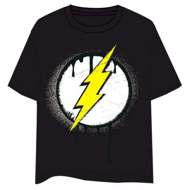 Camiseta Flash DC Comics adulto TALLA S