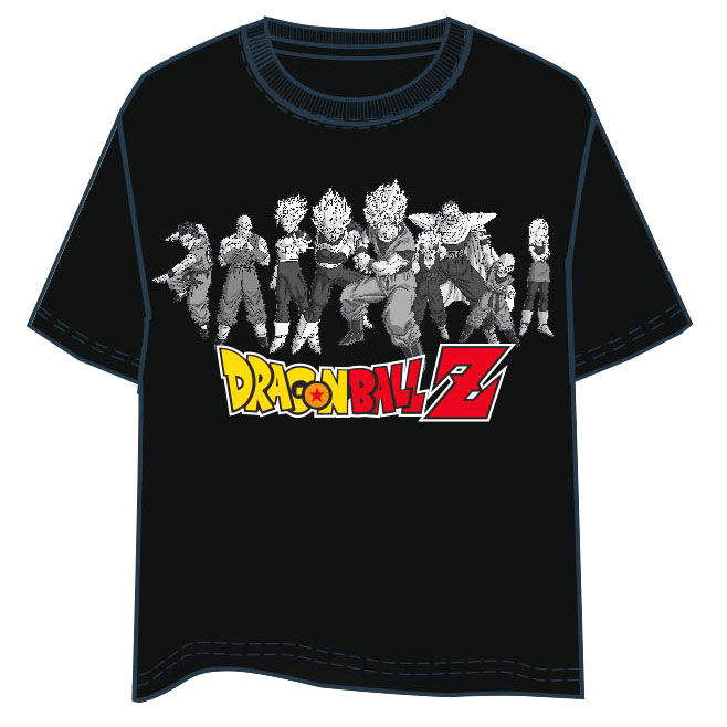 Camiseta Personajes Dragon Ball Z adulto TALLA M