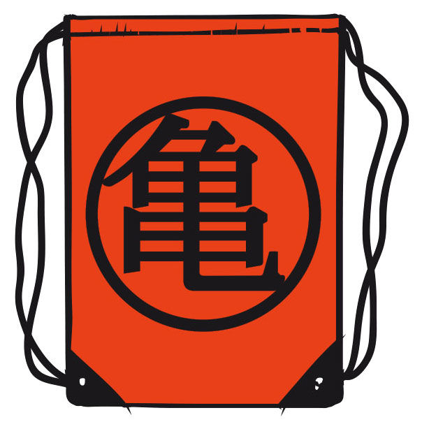 Saco Dragon Ball 45cm Naranja