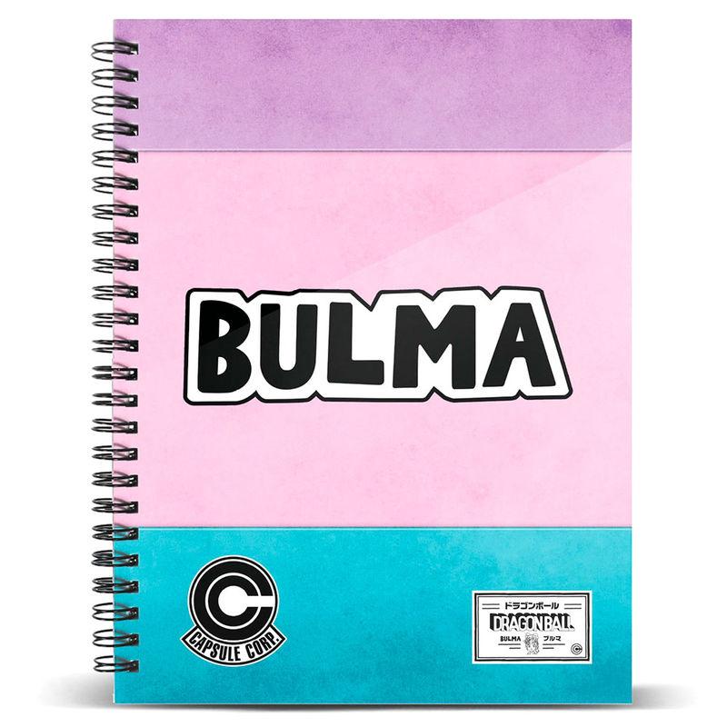 Cuaderno A4 Bulma Dragon Ball