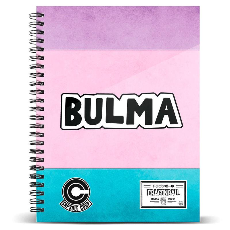 Cuaderno A5 Bulma Dragon Ball