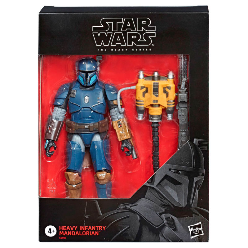 Figura Heavy Infantry Mandalorian Star Wars By Hasbr