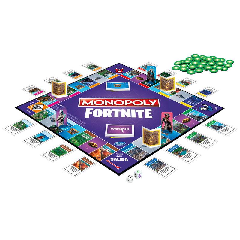 Juego de Mesa Monopoly Fortnite By Hasbro