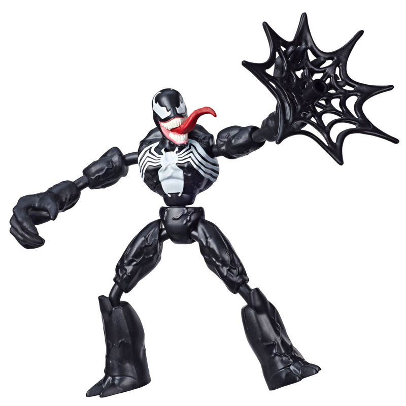 Figura Bend and Flex Venom Spiderman Marvel