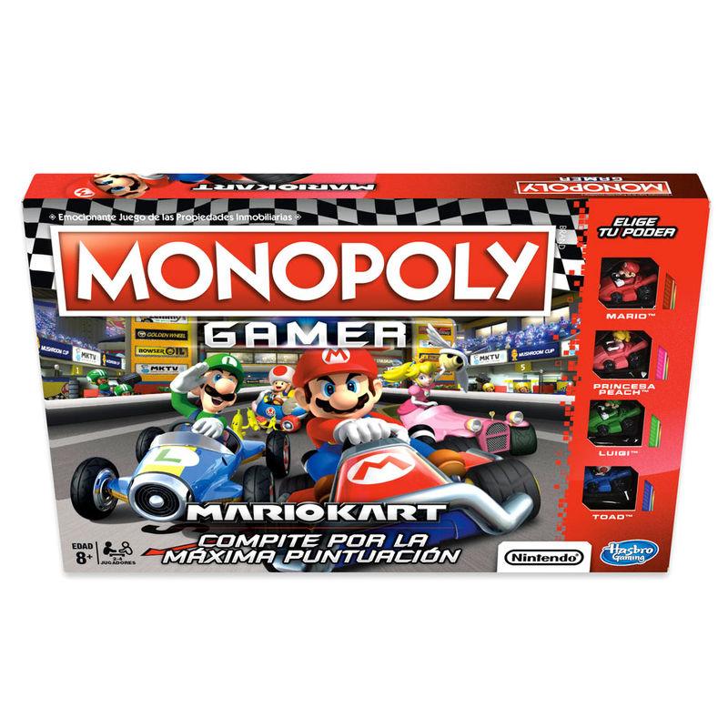 Juego Monopoly Gamer Mario Kart 5010993509751