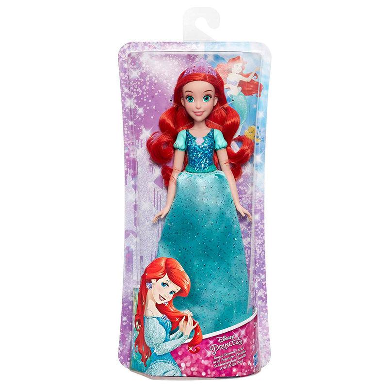 Muñeca Brillo Real Ariel La Sirenita Disney By Hasbro