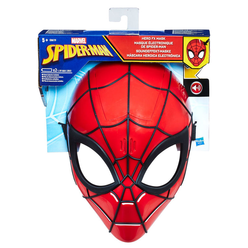 Mascara Electronica Spiderman Marvel By Hasbro