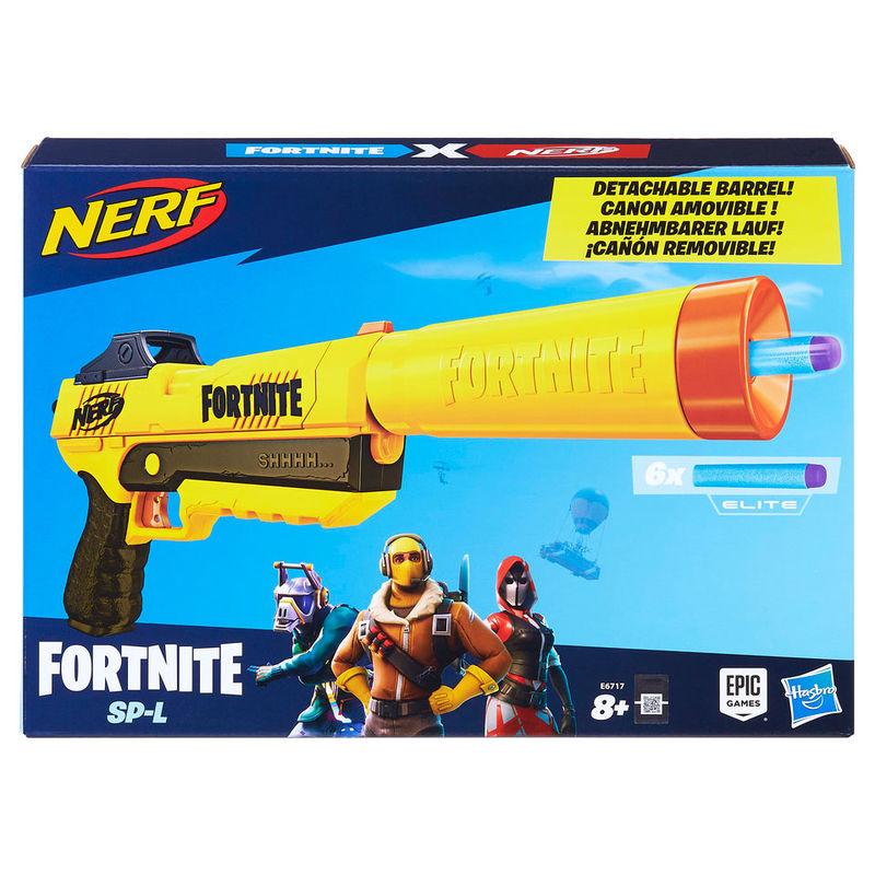 Lanzador SP-L Fortnite Nerf