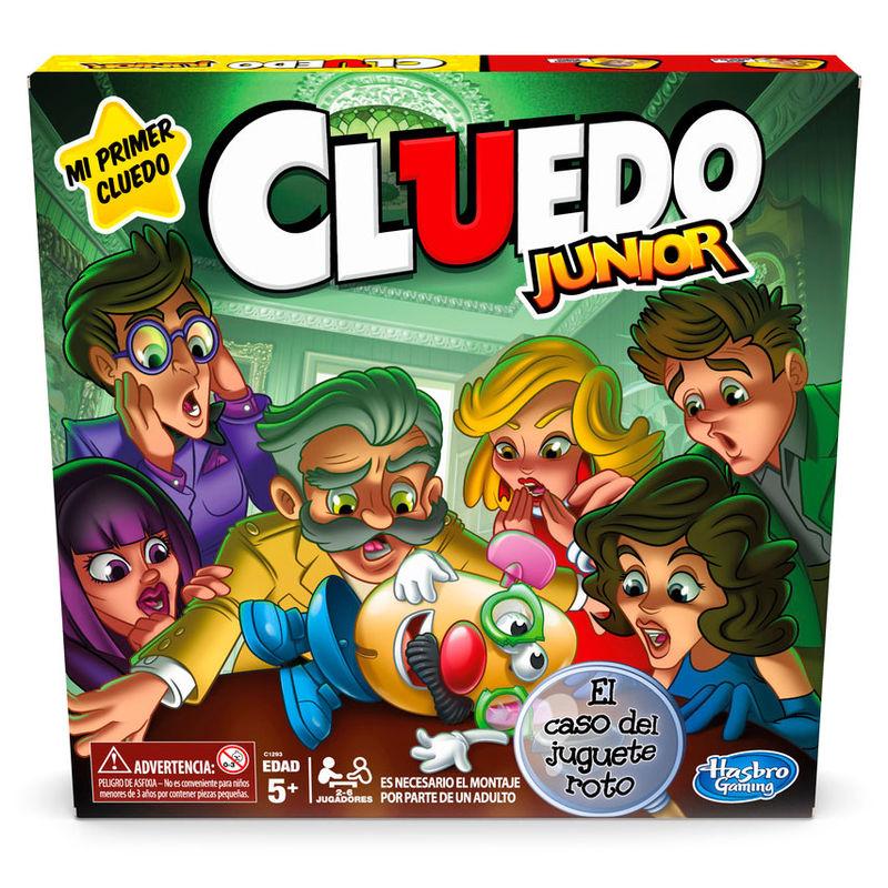 Juego de Mesa Cluedo Junior By Hasbro