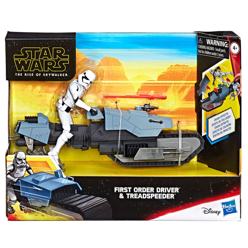 Figura First Order Driver and Treadspeeder Star Wars