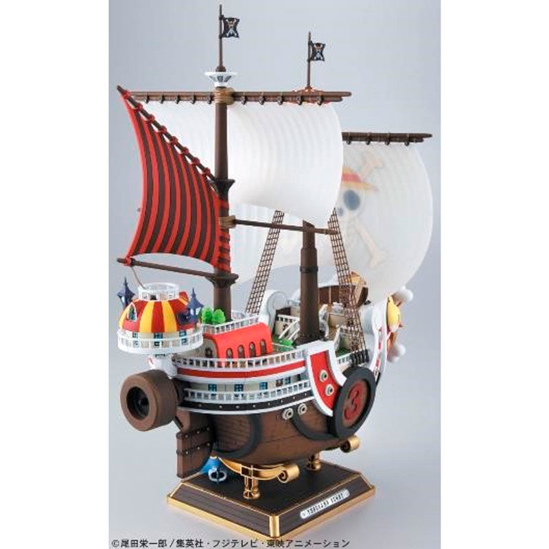 Figura Barco Thousand Sunny New World Model Kit One Piece 30cm By Bandai (1)