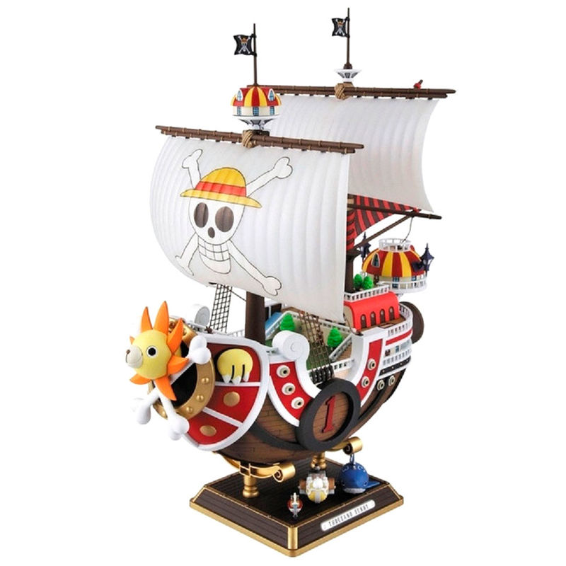Figura Barco Thousand Sunny New World Model Kit One Piece 30cm By Bandai