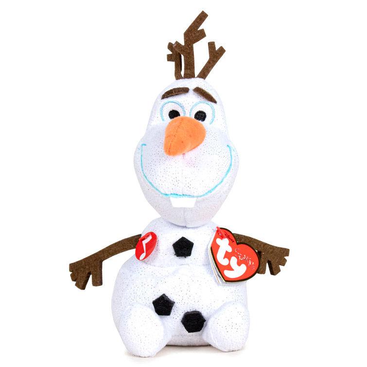 Peluche TY Olaf Frozen Disney con sonido 16cm 008421411481