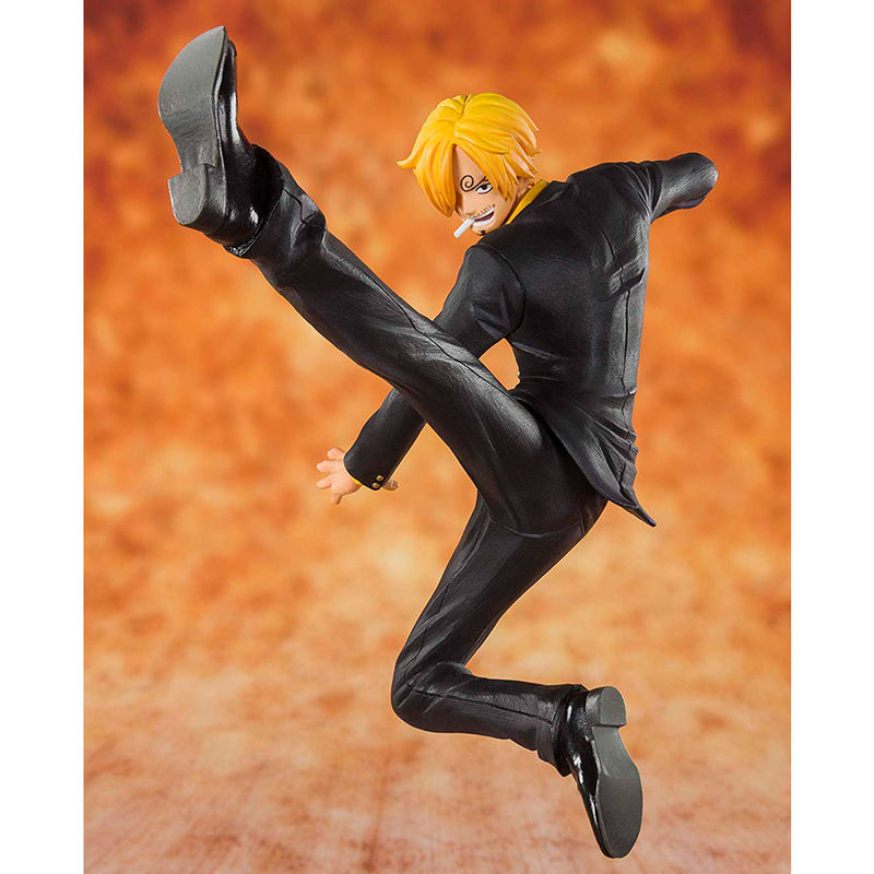 Figura Black Leg Sanji One Piece 13cm