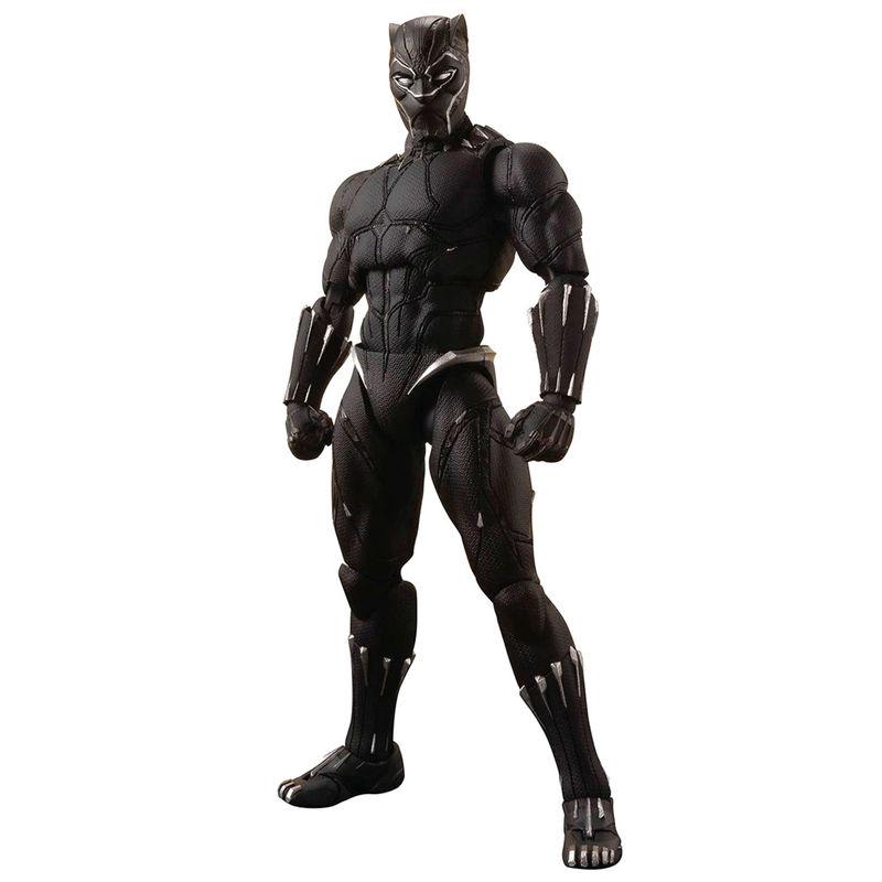 Figura articulada Black Panther Effect Rock Vengadores Infinity War Marvel 16cm