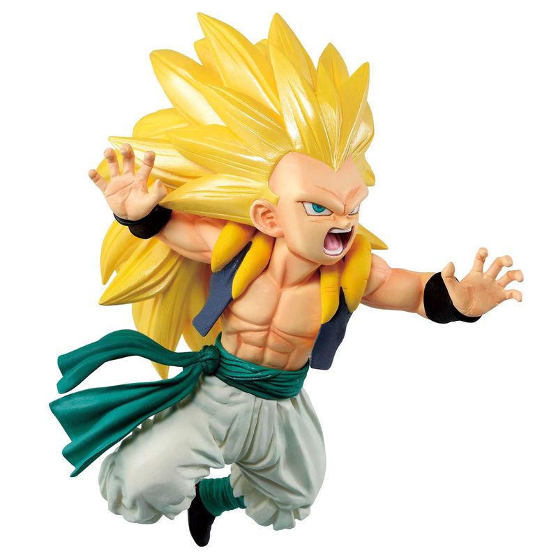 Figura Ichibansho Super Saiyan3 Gotenks Rising Fighters Dragon Ball Z 11cm 4983164164589