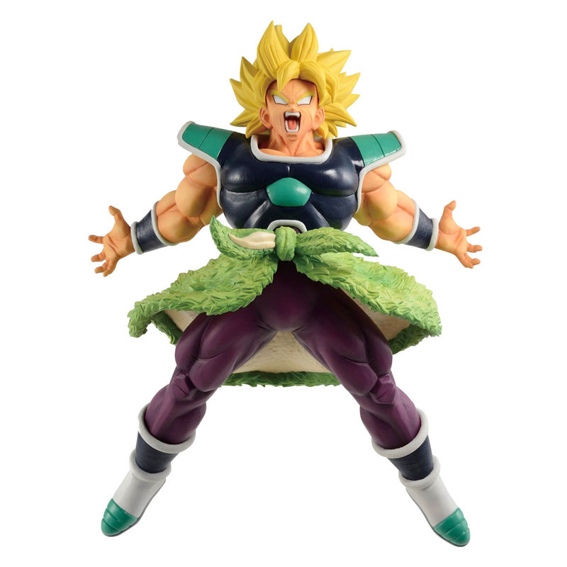 Figura Ichibansho Super Saiyan Broly Rising Fighters Dragon Ball Z 24cm By Banpresto
