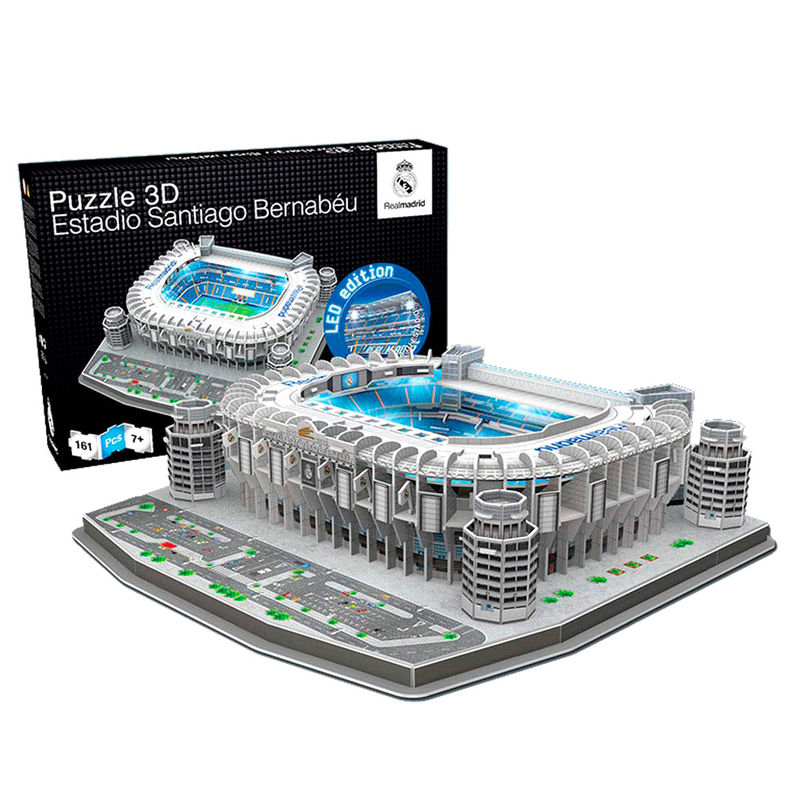 Puzzle 3D Estadio Santiago Bernabeu Real Madrid led 8056379017332