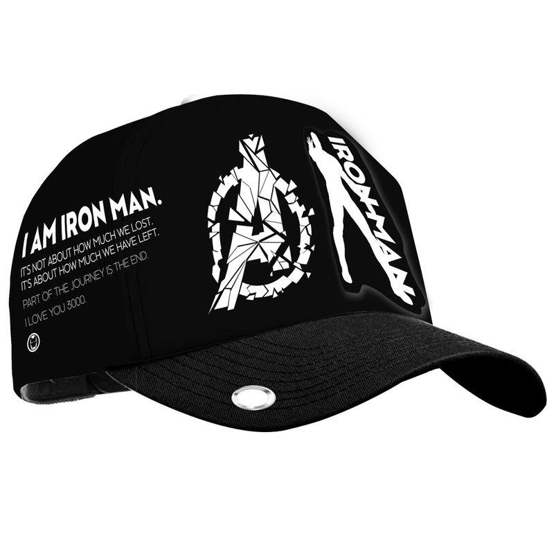 Gorra Iron Man Marvel Negra